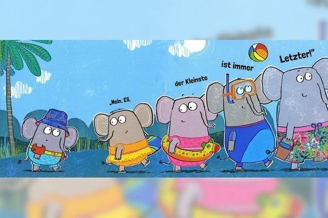 Fünf Elefanten