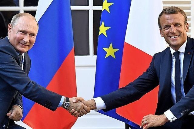 Macron will baldiges Treffen zum Ukraine-Konflikt