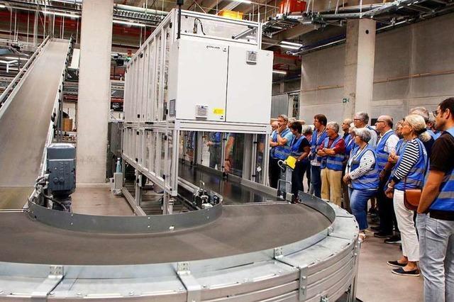 So funktioniert das Logistikzentrum von Zalando auf dem Lahrer Flugplatzareal
