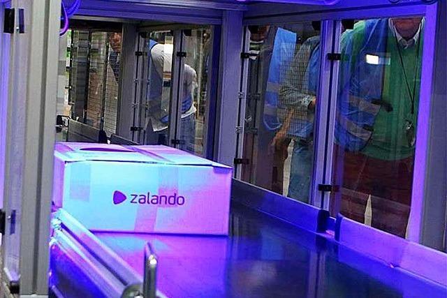 So funktioniert das Logistikzentrum von Zalando in Lahr