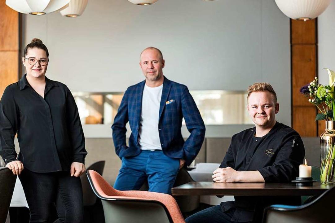 Larissa, Rainer und Nicolai Wiedmer  | Foto: Hotel Eckert