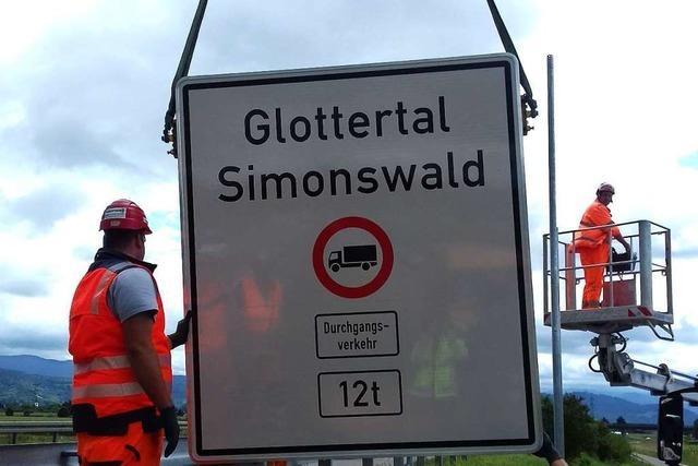 Freiburger Umlandgemeinden sollen vor Schwerlastverkehr geschützt werden