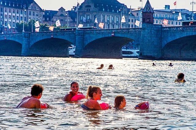 Das Basler Rheinschwimmen ist für dieses Jahr definitiv abgesagt