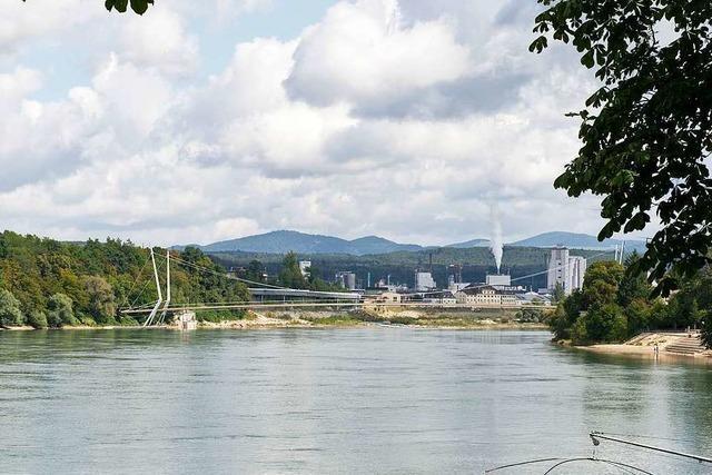 Was die deutschen Gegner des Rheinfelder Stegs zum Schweizer Referendum sagen