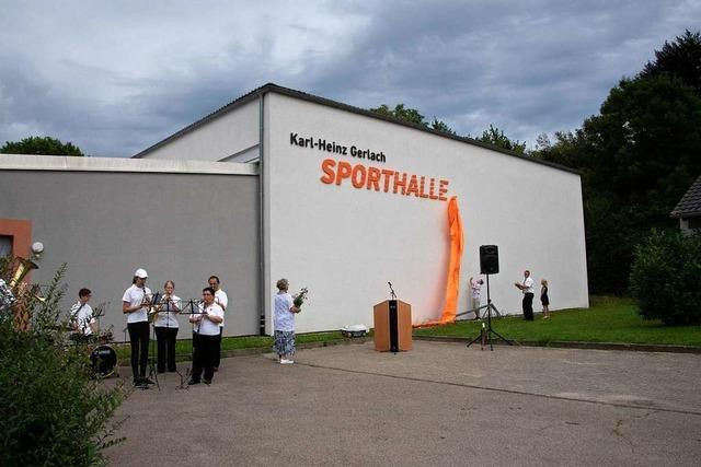 Buggingen benennt Sporthalle nach dem unvergessenen Karl-Heinz Gerlach