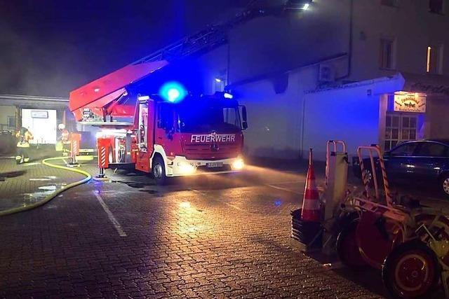 Polizei: Brand in Tanzlokal in Weil am Rhein war keine Brandstiftung