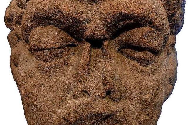Wird im Klostermuseum ein römischer Götterkopf ausgestellt?