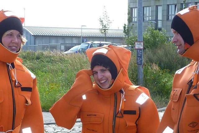 Diese Herbolzheimerin arbeitet als nautische Wachoffizierin auf hoher See