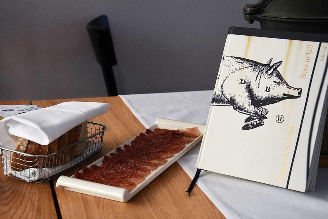 Carpaccio vom Vorgänger-Wildschwein  | Foto: Kathrin Ganter
