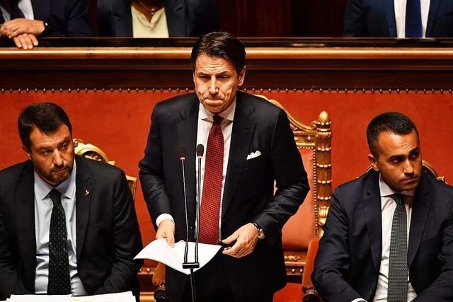 Italiens Ministerpräsident kündigt Rücktritt an – Regierung am Ende