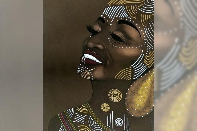 Afrikanische Schönheiten in der Fritz' Galerie