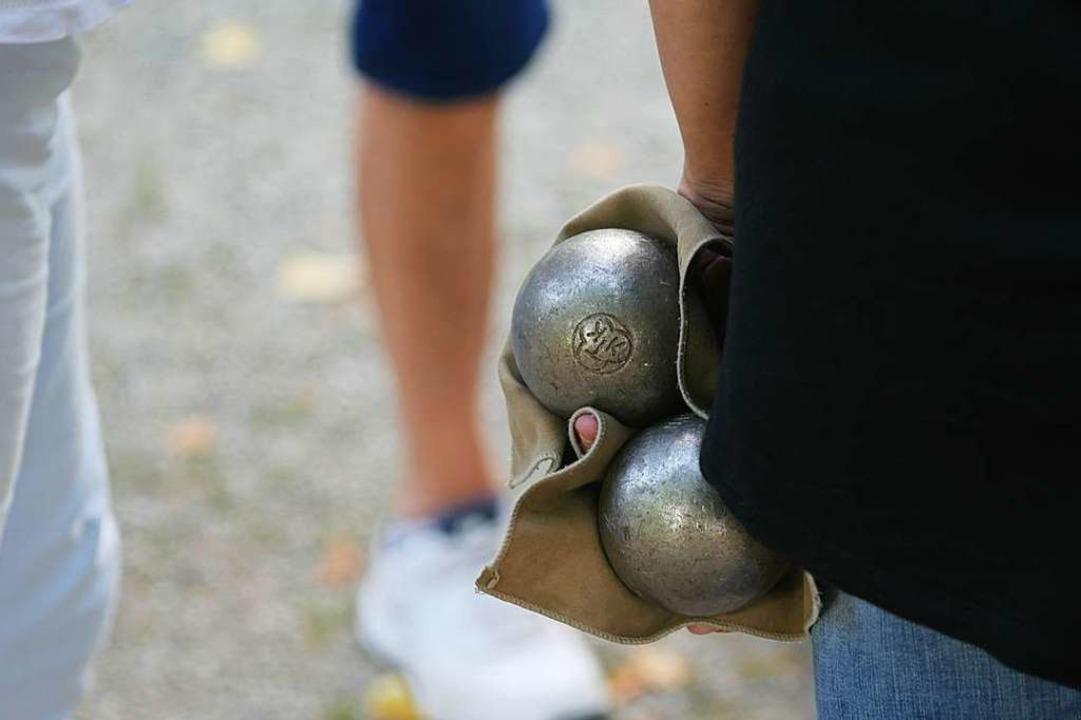 Das Spiel mit den Kugeln  | Foto: Jannik Jürgens