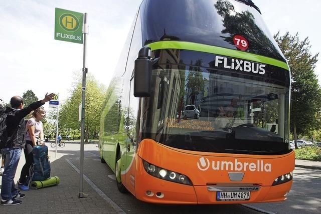 Flixbus hält wieder am Bahnhof