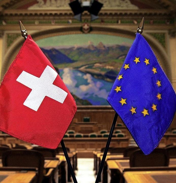 Wichtige Partner: Schweiz und EU  | Foto: Michael Stahl