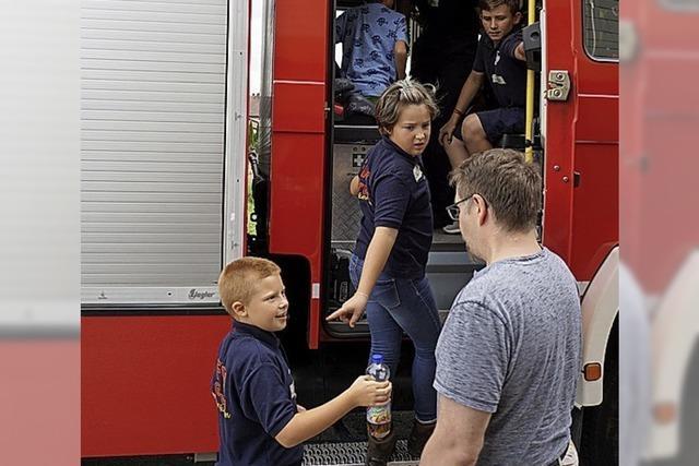 Zu Besuch bei der Feuerwehr in Görwihl