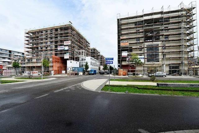 Freiburg könnte auch 2019 das Ziel von 1.000 neuen Wohnungen erreichen