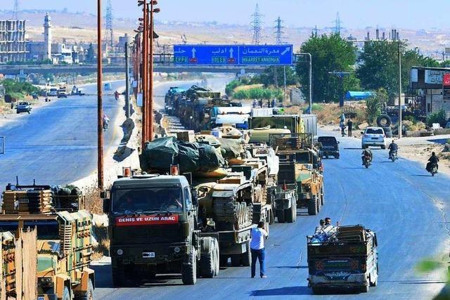 Assads Truppen rücken in Rebellenhochburg vor