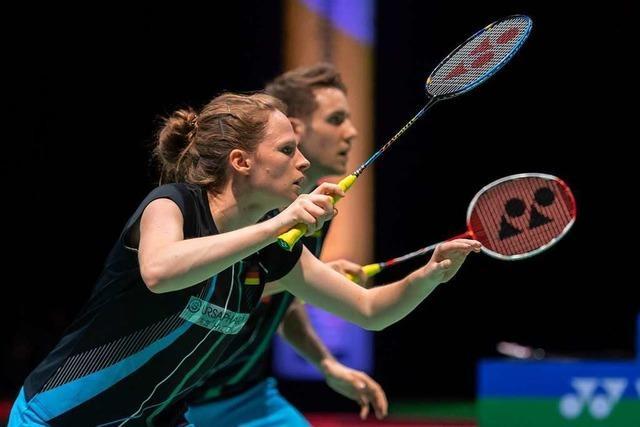 Deutsches Badminton-Mixed Herttrich/Lamsfuß scheidet aus