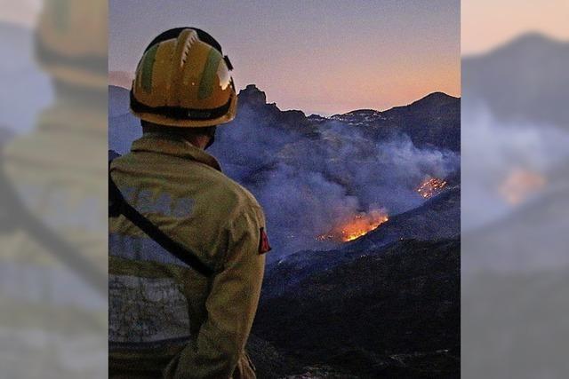 Brände in Gran Canaria werden schwächer