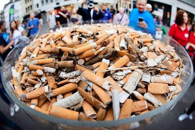 Zigarettenkippen sind der kleinste Beweis unserer alltäglichen Umweltvergessenheit