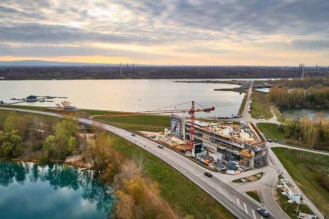 Am Rhein entsteht für 14 Millionen Euro das Europäische Forum