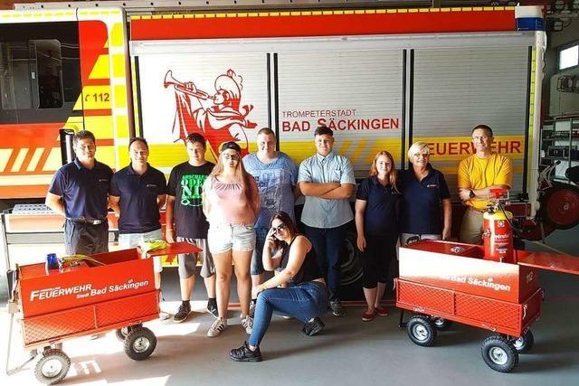 Feuerwehr ruft eine Kindergruppe ins Leben