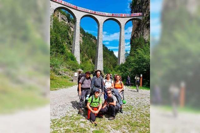 Das haben die Alpenüberquerer des Schwarzwaldvereins bislang erlebt