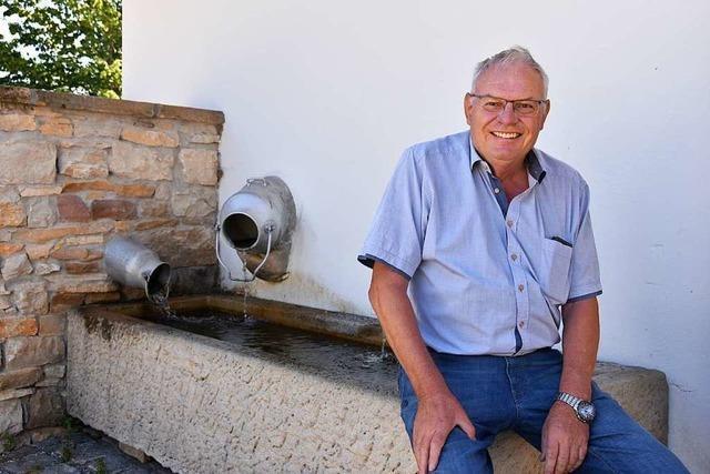 Nach 25 Jahren verabschiedete sich Hanspeter Moll aus dem Bollschweiler Rat