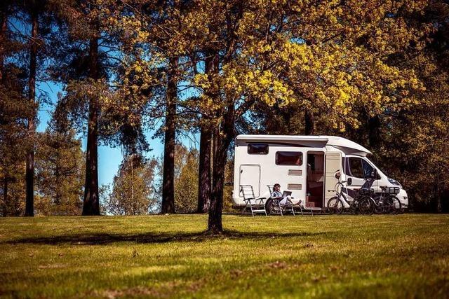 Immer mehr Touristen erkunden die Region mit dem Wohnmobil