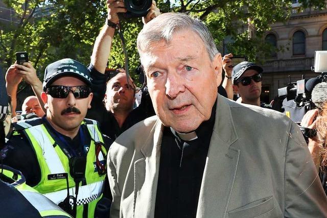 Ehemaliger Vatikan-Finanzchef Kardinal Pell scheitert mit Einspruch