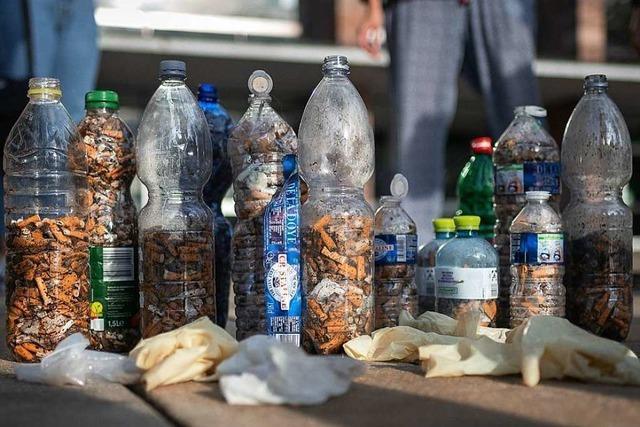 Freiburger Rapper starten Aktion zum Sammeln von Zigarettenstummeln