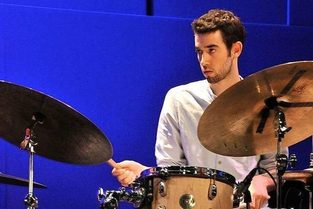 Der Schopfheimer Dominik Hoyer ist Profi an den Trommeln