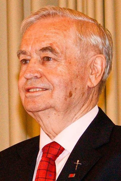 Diakon und Gewerkschaftssekretär: Herb... ist im Alter von 83 Jahren gestorben.  | Foto: Privat
