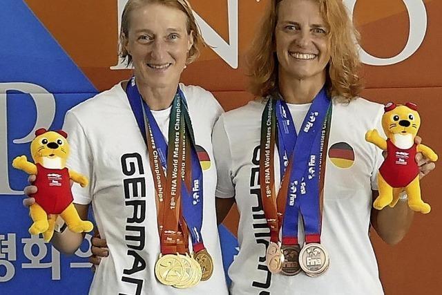 Fünfmal Gold für Susanne Reibel-Oberle