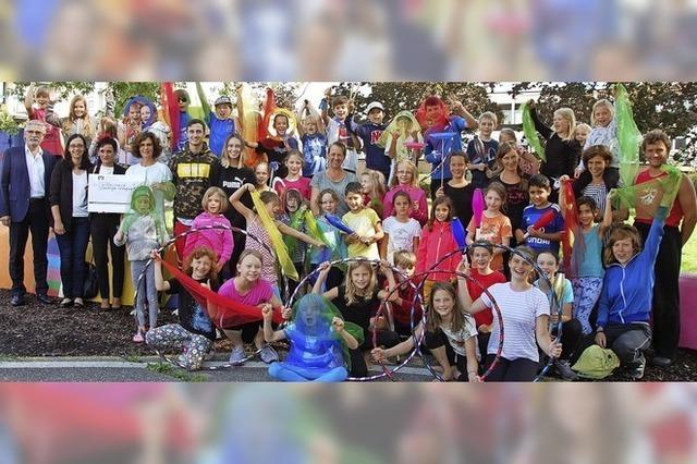 Was für ein Zirkus – die Kinder freut's