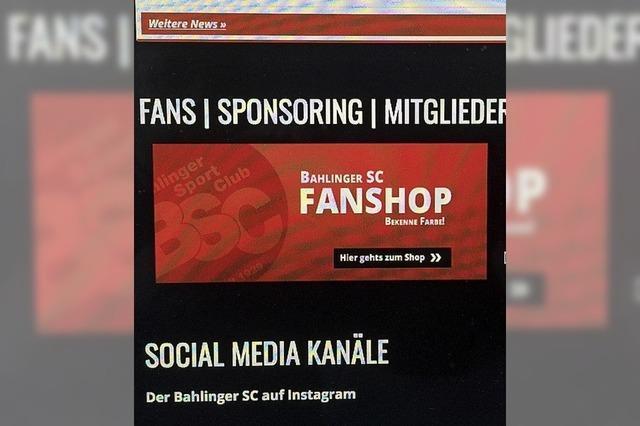 Bahlinger SC erweitert Fanangebote