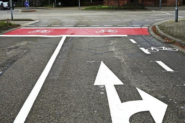 Zum Vorteil für Radfahrer