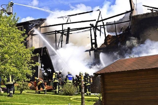 Eigentümer vermutet Brandstiftung