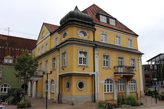 Vom Hotel Adler bleibt nur die Fassade