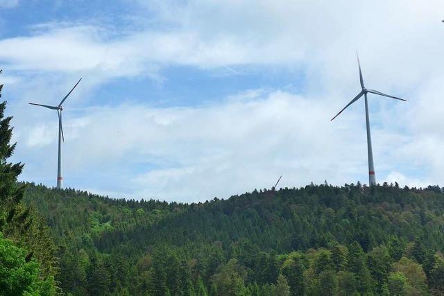 Die Klage der EWS gegen die Lärmmessung am Windpark Rohrenkopf hängt