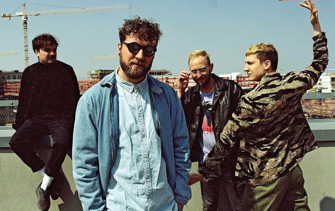 Mit seiner Band Otto Normal tritt Pete...klin (Zweiter von links) in Lahr auf.   | Foto: Veranstalter