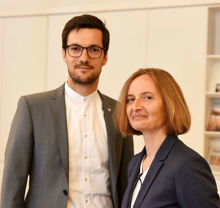 Martin Horn und Magdalena Szablewska.  | Foto: Rita Eggstein