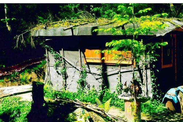 Rentner gibt den Kampf um seine Hütte im Hasler Wald trotz weiterer Rückschläge nicht auf