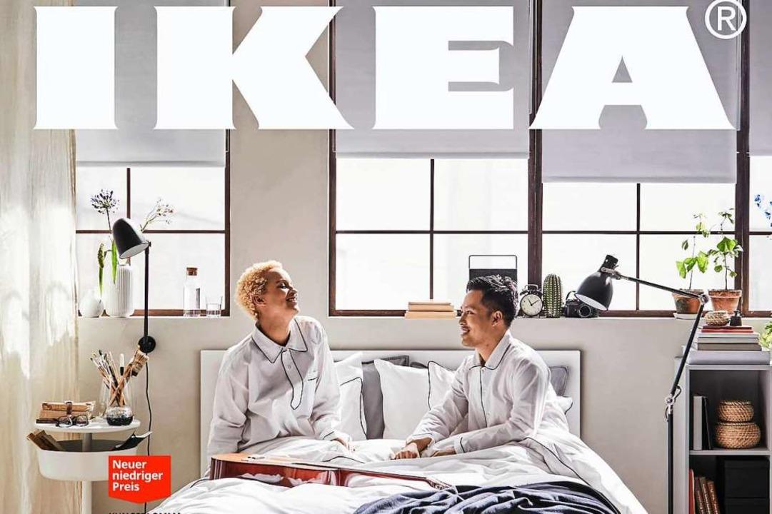 Es gibt wieder Bücher im Ikea-Katalog...  | Foto: Inter IKEA Systems B.V. 2019 (dpa)