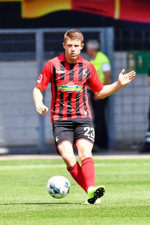 Angeblich im Fokus von Bayer Leverkusen: Dominique Heintz  | Foto: Achim Keller