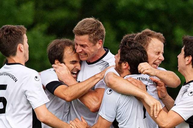 TuS Bonndorf, SV Hölzlebruck und SV Grafenhausen vor dem Start