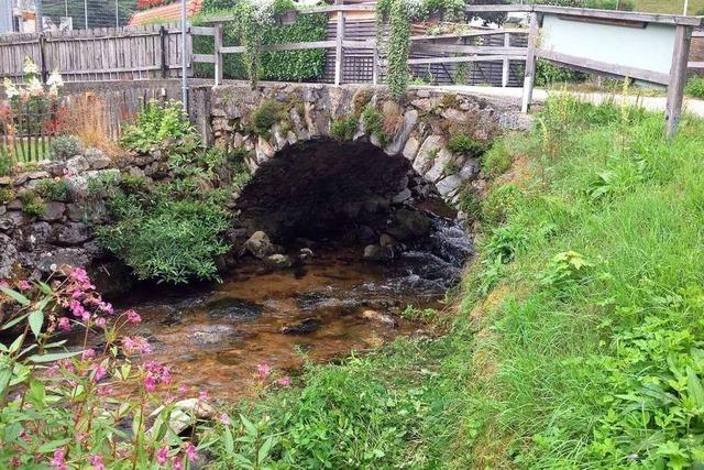 Münstertal muss eine Brücke wegen akuter Einsturzgefahr sperren