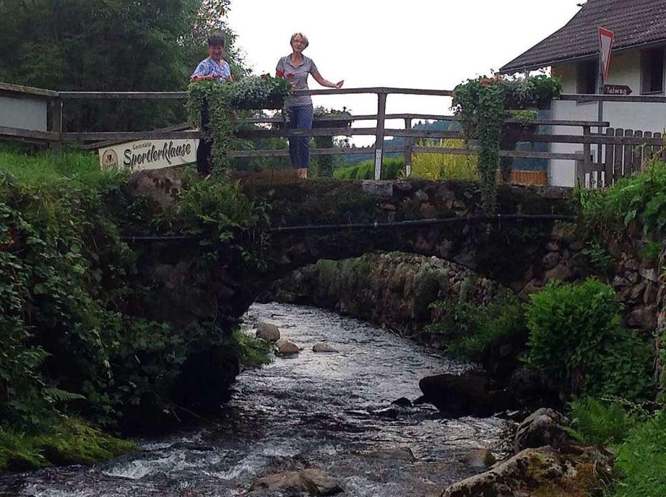 Für Fußgänger bleibt die Brücke vorerst noch begehbar.  | Foto: Anton Brender