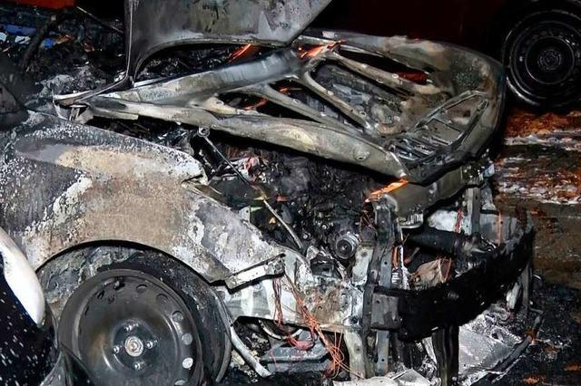 Die Polizei hoffte bei der Brandserie auf Hinweise aus der Bevölkerung