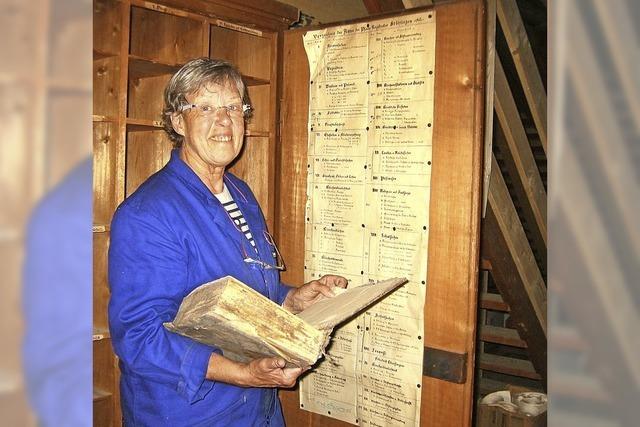 Ein Händchen für alte Dokumente